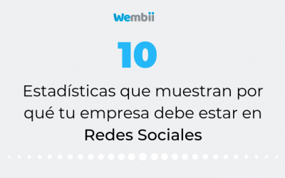 10 Estadísticas que muestran por qué tu empresa debe estar en Redes Sociales